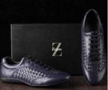 2017春夏◆超人気美品◆Ermenegildo Zegna エルメネジルド ゼニア スニーカー 靴 2色可選