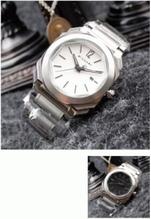 2017爆買い新品!高品質高精度の人気作品ブラックBVLGARI ブルガリ腕時計メンズ スイス