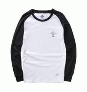 2017春の新商品!大人気の韓流ファションMADNESS マッドネス長袖Tシャツ男性服