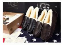 2017秋冬品質保証新作ファッションUGGアグ 靴  コピー 本革 モカシン 2色可選