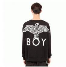 メンズファッションboy london ロゴ服 ボーイロンドン パーカー ブラックメンズスウェット長い袖 ビッグシルエット