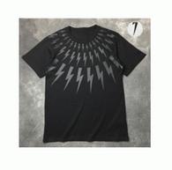 2017最新入荷 吸汗速乾BNEIL BARRETT ニールバレット tシャツ 半袖  無地 クルーネック 男女兼用