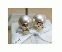 品質保証定番人気上品な可愛いDIOR ディオール ピアス パール アコヤ 真珠 ピアス 大粒