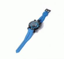 限定セール低価GAGA MILANOガガミラノ 時計 クロノ 日付カレンダー付き ブルー  腕時計 プレゼント