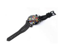 数量限定大得価GAGA MILANOガガミラノ 時計 コピー クロノ メッシュメタルベルト カレンダー 日付表示 中古 お誕生日 プレゼント