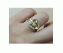 2017超激得100%新品可愛いTIFFANY&COティファニー 指輪 ハートゴールドリング
