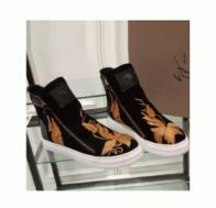 超激得格安GIUSEPPE ZANOTTI ザノッティ 靴 刺繍 スウェット カジュアル 厚底 低反発 楽ちん ハイカット スニーカー