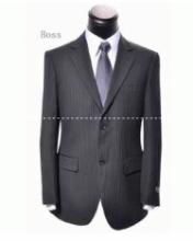 新作入荷定番HUGO BOSS ヒューゴボス 偽物 紳士 ビジネススーツ 2つボタン メンズ スリムスーツ 紳士 結婚式 二次会
