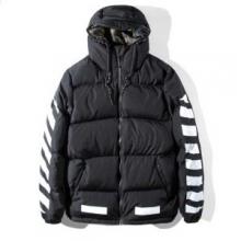 ダウンジャケット おしゃれな装いオフホワイト OFF-WHITE防寒機能ある2017セレブ風