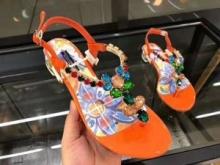 サンダル 3色可選 超激レア人気新作 ドルチェ&ガッバーナ Dolce&Gabbana 2018春夏新作