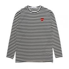 2018年春夏新品 コムデギャルソン 長袖Tシャツ    激安通販 2色可選 楽しめる1着