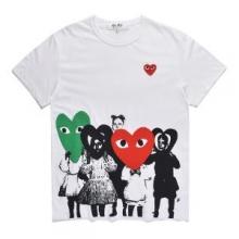 存在感を発揮する 2018年最新人気  コムデギャルソン 半袖Tシャツ 優秀な