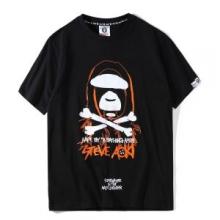 2018年春夏季超人気A BATHING APEアベイシングエイプ 通販プリント tシャツ半袖カットソーコットン2色可選