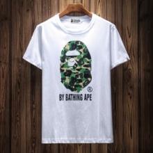 話題沸騰中 2018爆買い新作登場 半袖Tシャツ ア ベイシング エイプ A BATHING APE 2色可選