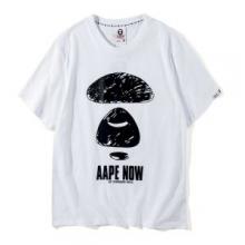 春夏品質保証安いA BATHING APEアベイシングエイプ tシャツロゴプリントカットソートップス半袖2色可選