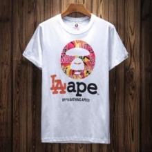 2色可選 半袖Tシャツ 2018ss トレンド ア ベイシング エイプ A BATHING APE トレンド感溢れた