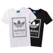 春夏品質保証低価adidasアディダス tシャツ メンズプリントアメカジファッションおしゃれ半袖ロゴT2色可選