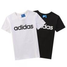 春夏お買い得新品adidasアディダス コピーW SIDリニアCX4249ロゴ文字プリントシンプルTシャツ半袖2色可選