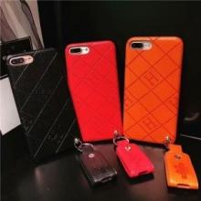 品質保証低価HERMEエルメス コピースマホケースシンプルiphonexケースストラップ付き携帯カバー3色可選