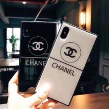 美品*稀少 シャネル CHANEL トレンド感溢れた 2色可選 iphone7 plus ケース カバー