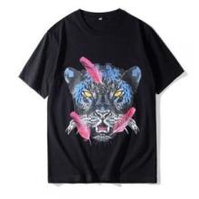 2018春夏人気セール低価MARCELO BURLONマルセロバーロン スーパーコピーヒョウプリントTシャツ半袖2色可選