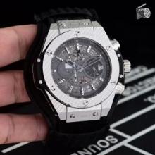 無機質さが魅力 2色可選 ウブロ HUBLOT 高品質な新品  男性用腕時計 注目度アップ!