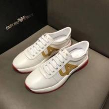 アルマーニ スニーカー コピーARMANIレザーメンズ靴ランニングシューズブラックホワイト品質保証得価