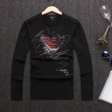 有名モデル愛用アイテム アルマーニこの秋冬おススメ! 長袖/Tシャツ ARMANI 3色可選