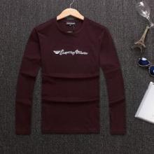 2018年秋冬新品 アルマーニ 今さら聞けない!ARMANI超激レア人気新作 3色可選 長袖/Tシャツ