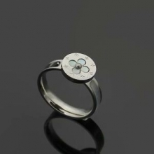 ルイ?ヴィトン LOUIS VUITTON 最高に人気商品! 指輪 注目度アップ! 3色可選 無機質さが魅力