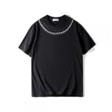 偽 ブランド サイト_春夏们気セールGIVENCHYジバンシー 服 スーパーコピーtシャツ半袖無地シンプルカジュアルカットソー黒白2色可選