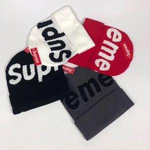 ブランド スーパー コピー 優良 店_入手困難! 抜群な存在感 シュプリーム Supreme Big Logo Beanie ニット帽スーパーコピー 通販 5色可選 高品質保証