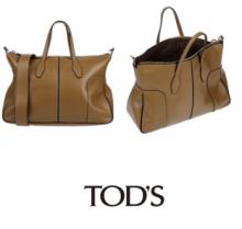 素敵な新作アイテムTOD'S トッズ ビジネス トートバッグ ブランド ハンドバッグ コピー 高級 レザー 通勤バッグ サイズ感優れ