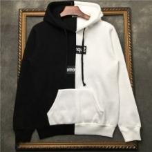 オシャレにトレンド販売Supreme コピー 品 シュプリーム パーカー サイズ感 心地良いoversizeデザイン ブラックXホワイト