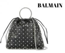 2019限定発売新品BALMAIN Studded Blink Etoiles bracelet bacgショルダーバッグ 安い バルマン コピー ブランド トートバッグ 上質