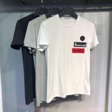 流行色2019年春夏MONCLER Logo Cotton T-shirt モンクレール Tシャツ レディース 安いコピー 半袖 オーバーサイズ 人気 セール