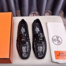 スーパー ブランド コピー_欠かせない限定アイテム エルメス コピー ビジネスシューズ 紳士靴 コーデHERMES オシャレ 高級感が溢れ メンズシューズ
