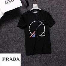 プラダ SS19完売必至 Tシャツ/ティーシャツ 海外大人気アイテム 3色可選 海外限定モデル 新作