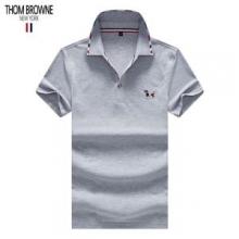 3色可選 トムブラウン 人気新作 ロゴ入り THOM BROWNE 数量限定☆2019SS Tシャツ/ティーシャツ 速達可 新作速乾超軽量