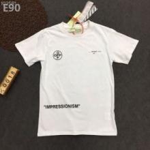 2019トレンドファションオフホワイト tシャツ 激安OFF-WHITE ARROWS新作コレクション コットン 半袖 クルーネック ロゴプリント