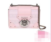 輝く高級感満点Balmain RING BOX BABY BAG バルマン バッグ 通販 人気 コピー ショルダーバッグ コーデ2019春夏トレンド ピンク