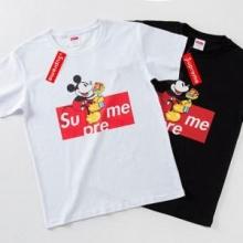 完売間近 完売必須 限定SALE シュプリーム SUPREME 半袖Tシャツ 2色可選 2019最新コラボ