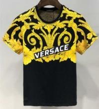 大人っぽかわいい2019 VERSACEコピー 安い ヴェルサーチ 服 サイズ 着心地いい 上質仕様 tシャツ コーデ 夏 コットン