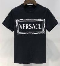 2019春夏の流行コーデ SUSTAINABLE VERSACE VINTAGE 90S LOGO T-SHIRTヴェルサーチ tシャツ 人気 コピー 上質 コットン 吸汗速乾