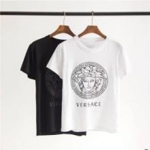 夏のコーデには欠かせないVERSACE GREEK KEY MEDUSA T-SHIRT 19SS人気 ヴェルサーチ 半袖 コットン tシャツ 値段 安い コピー