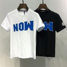 2色可選 19新作限定版プリント 大注目 早い者勝ち モンクレール MONCLER Tシャツ/ティーシャツ