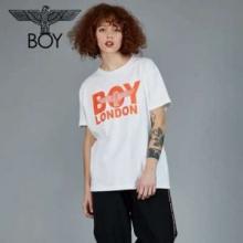 レトロ感のあるデザイン 半袖Tシャツ 永遠の定番商品 ボーイロンドン BOY LONDON 19SS 異素材