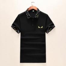 FENDI 流行に左右されない フェンディ 半袖Tシャツクラシックなシルエット  2色可選 2019年新作