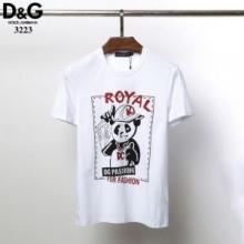 半袖Tシャツ 着こなしが簡単につくれる  ドルチェ&ガッバーナ DOLCE & GABBANA  2色可選 2019年春夏のトレンド