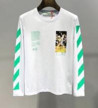 Off-White オフホワイト 長袖Tシャツ 2色可選 スタイリッシュな雰囲気 希少 2019限定品海外即発